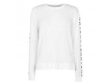 Dámské triko DKNY Long Bílé