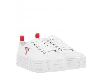 Dámské boty Guess Brigs Bílé
