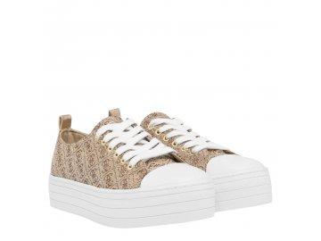 Dámské boty Guess Brigs Zlaté