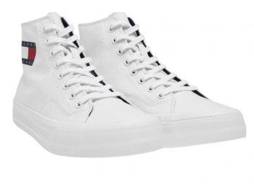 Pánské boty Tommy Hilfiger High-Top Bílé