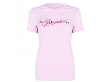 Dámské triko Guess T Růžové