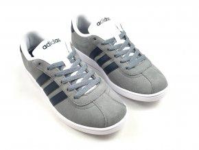 Pánské boty Adidas VL Neo Court Šedé (Velikost 13 (48.7))