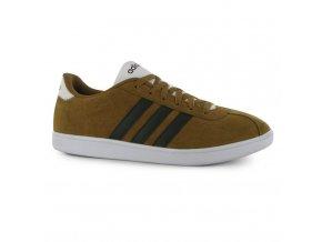 Pánské boty Adidas VL Court Hnědé (Velikost 47,5)
