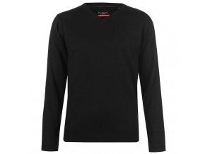 Pánský svetr Pierre Cardin V Černý (Velikost XXXXL)