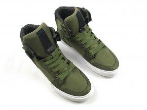 Pánské kožené boty Supra Vaider