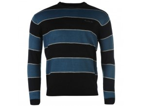 Svetr Pierre Cardin Stripes Navy