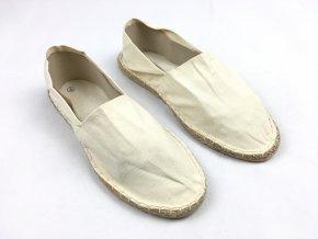 Dámské Slip-on boty Slonová kost - Vel. 40 Poslední kousky