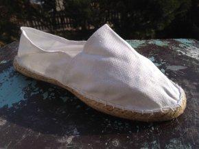Dámské Slip-on boty Bílé - Vel. 38 Poslední kousky