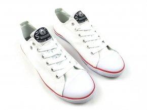 Dámské Boty Dunlop Canv Bílé (Velikost 36)