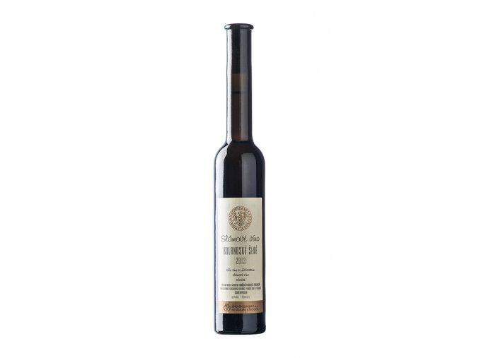 slámové víno 2013