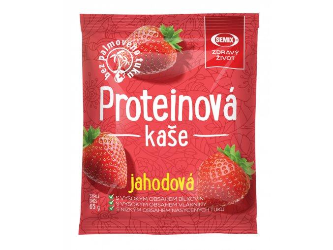 proteinova kase jahodova 65 g original