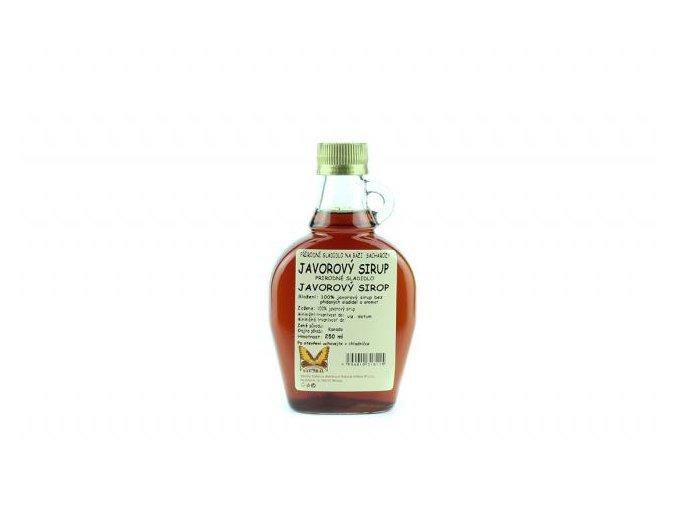 javorový sirup 250ml Natural