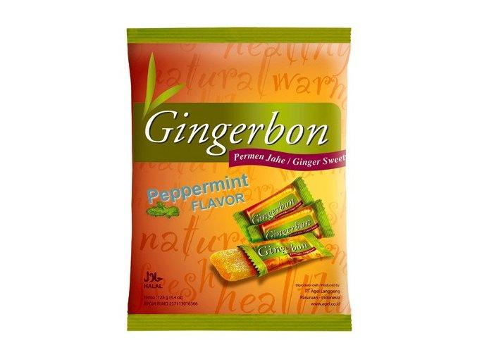 Gingerbon Peppermint 125g