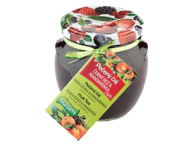 peceny caj cerny bez s mandarinkou 520 ml