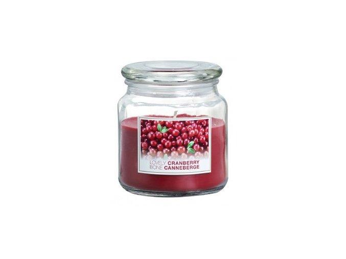 bolsius sklo maxi cranberry