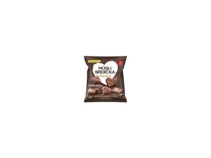 srdíčka čokoláda
