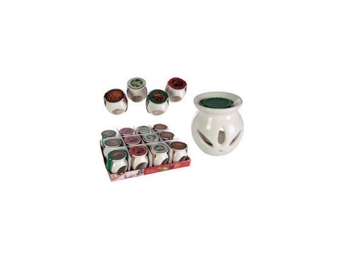 aromalampa keramická vosk
