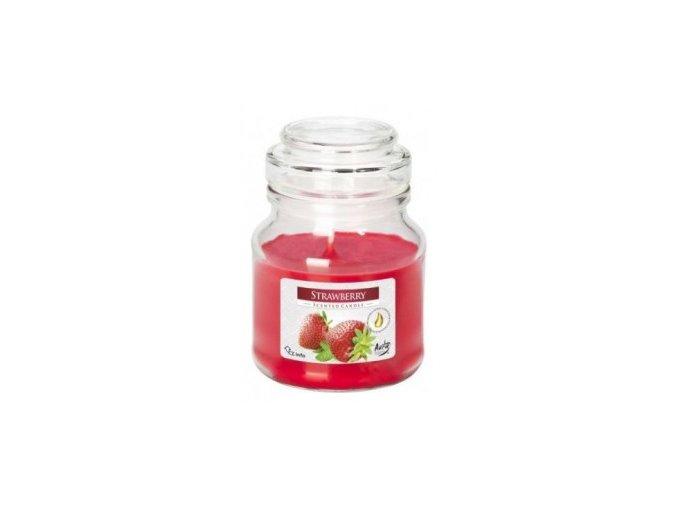 strawberry s víčkem