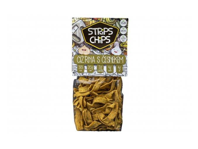 strips česnek