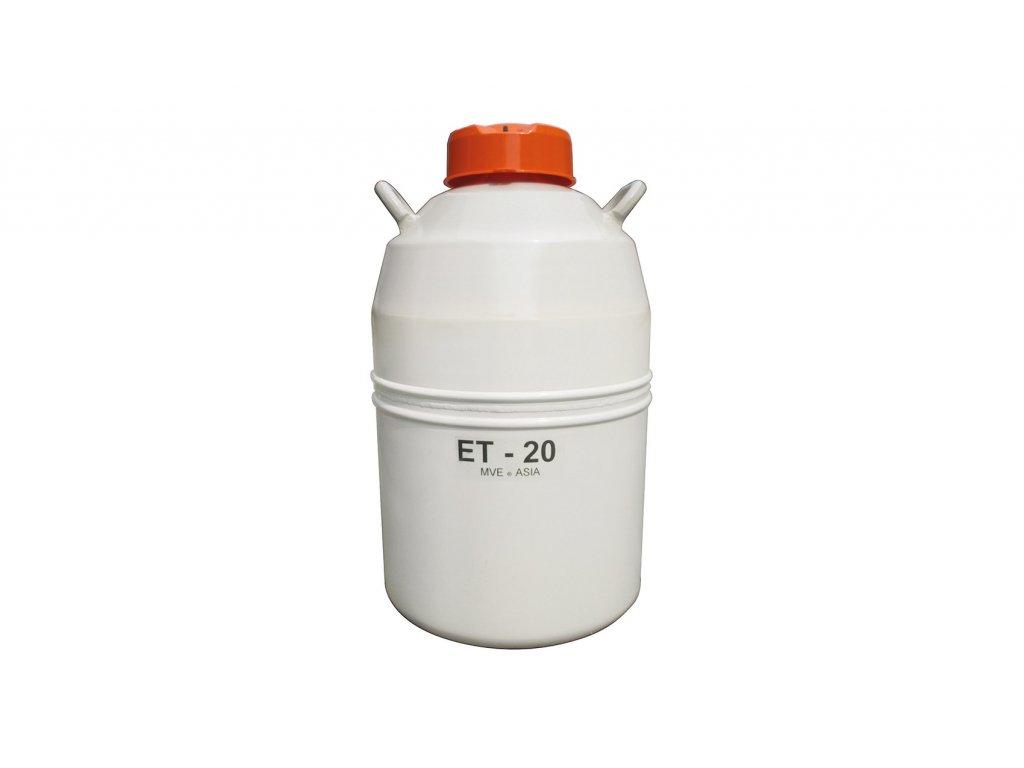 kontejner na inseminační dávky ET 20