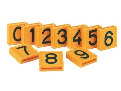 posuvná čísla pro skot