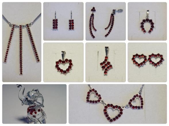 Šperky s Českým granátem