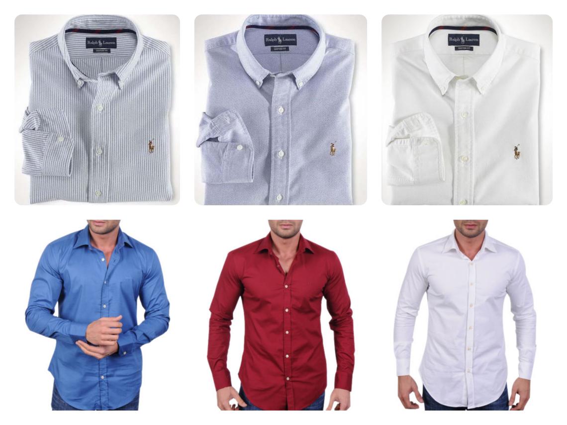 Pánské košile Hugo Boss a Ralph Lauren