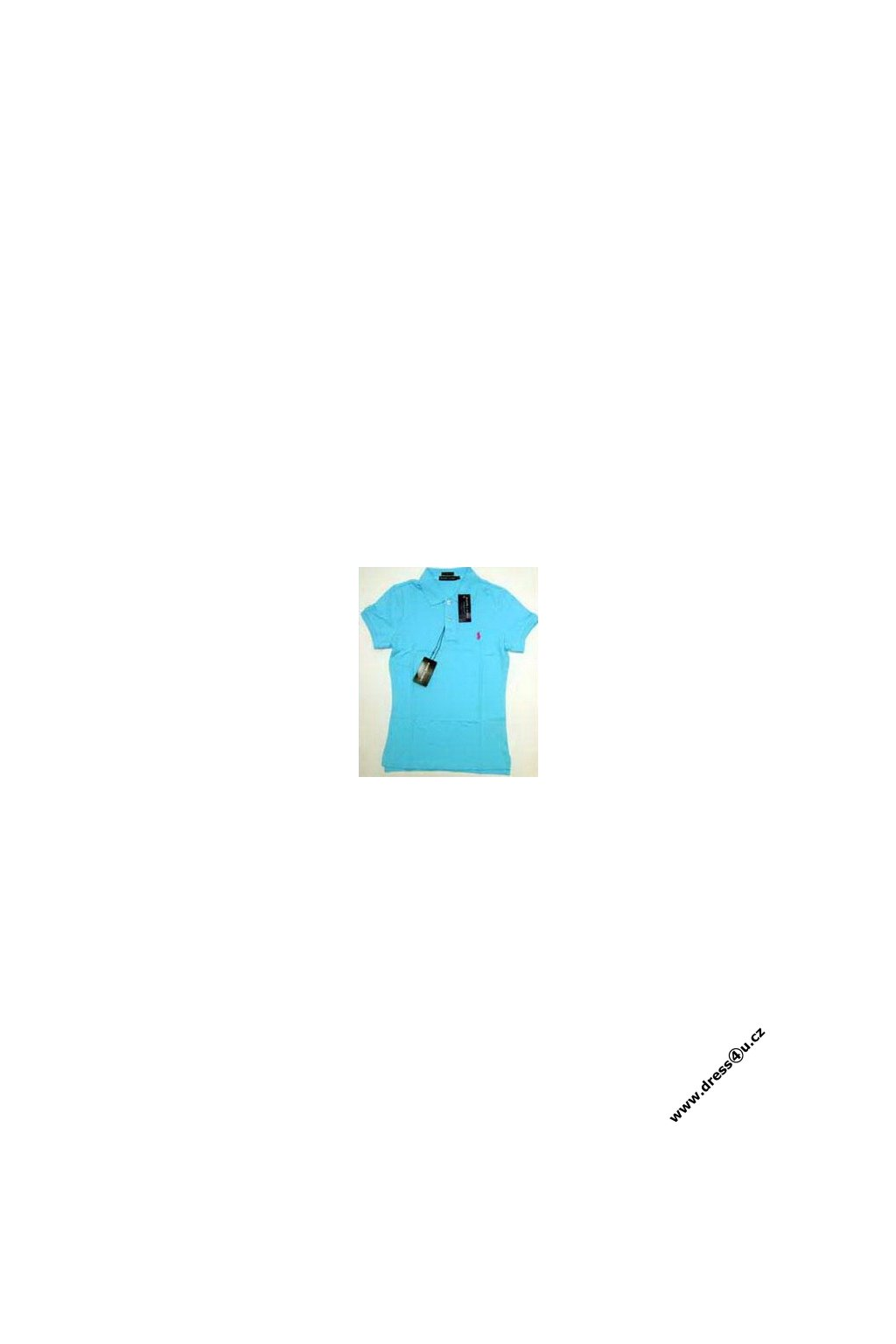 Ralph Lauren dámské polo triko tyrkysové