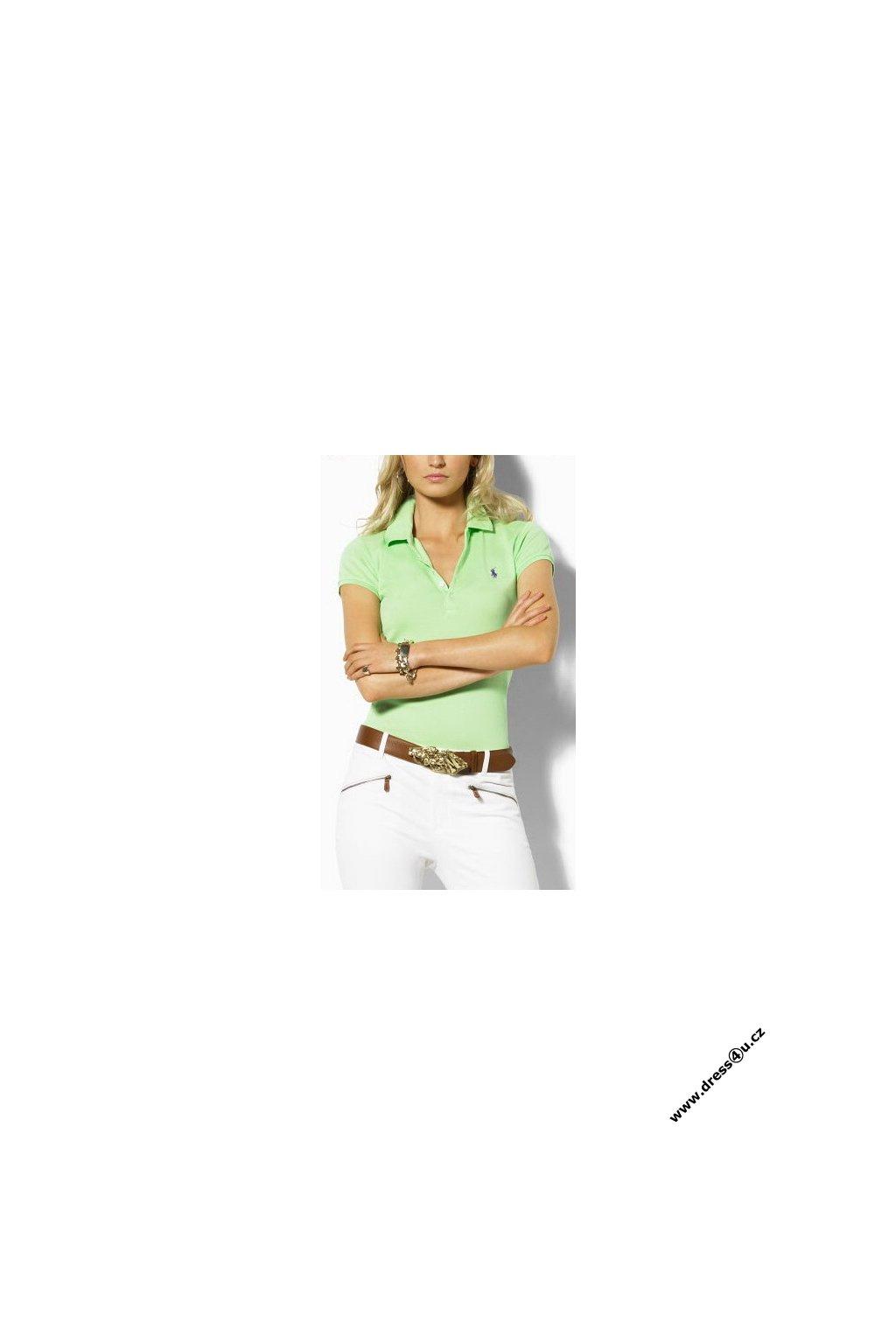 Ralph Lauren dámské polo triko sv.zelené