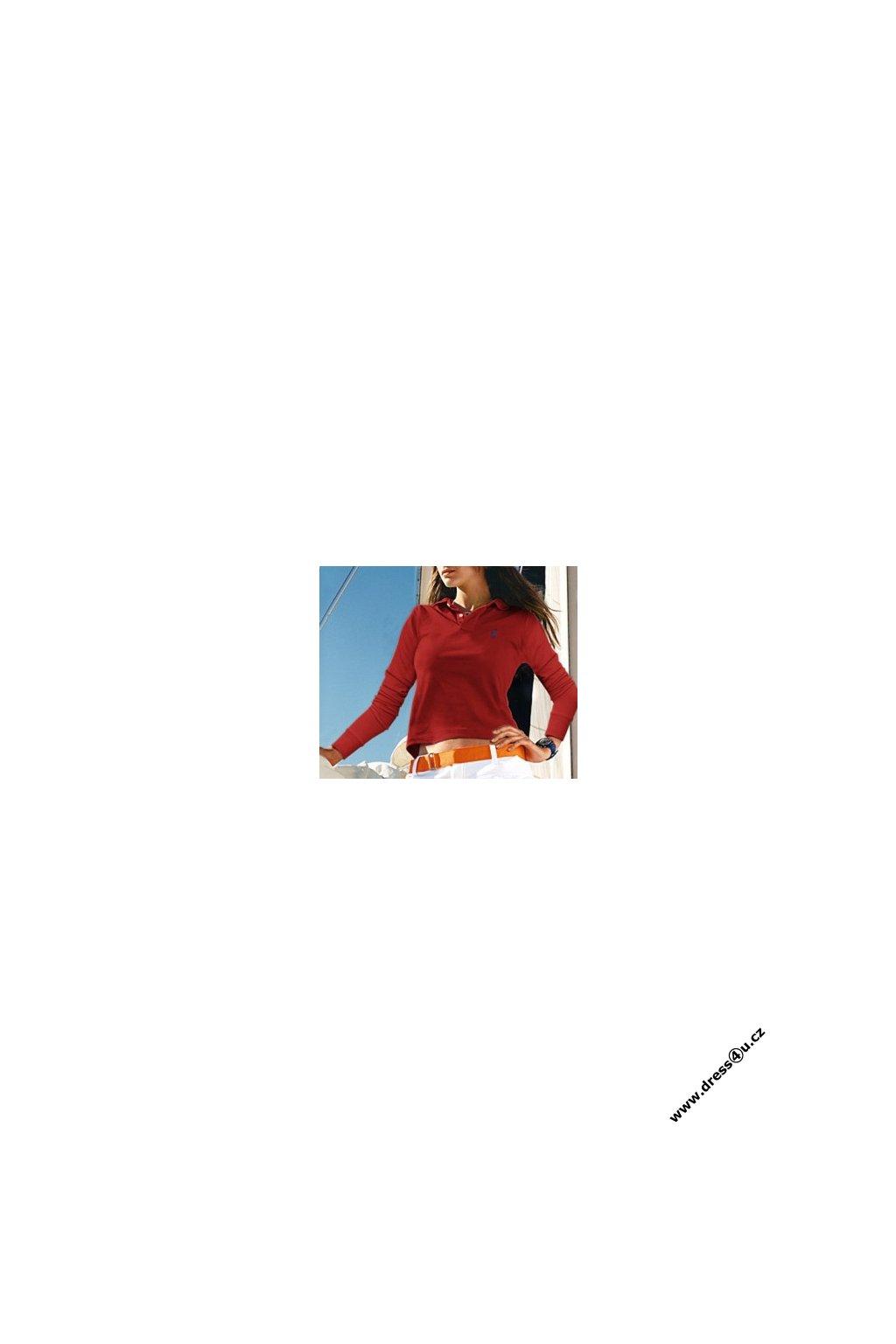 Ralph Lauren dámské polo triko červené