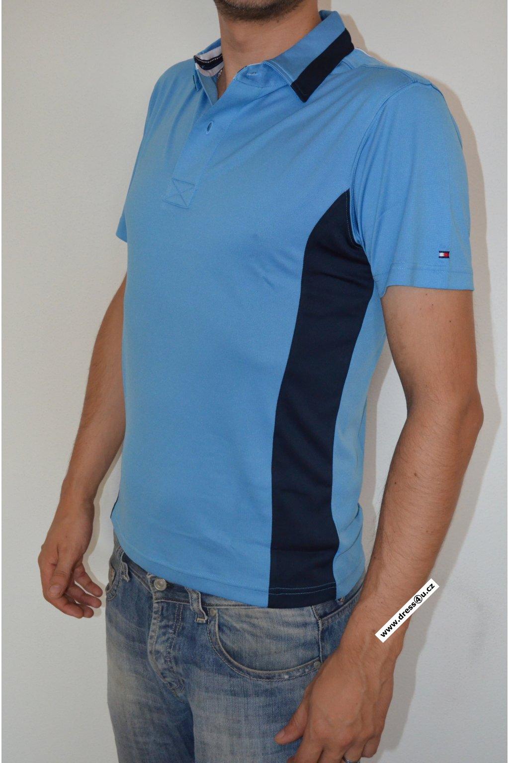 Tommy Hilfiger pánské golf polo triko modré