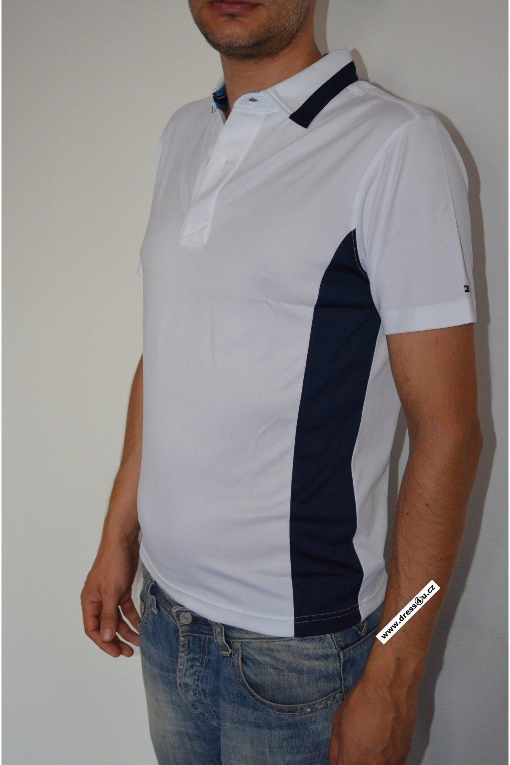 Tommy Hilfiger pánské golf polo triko bílé
