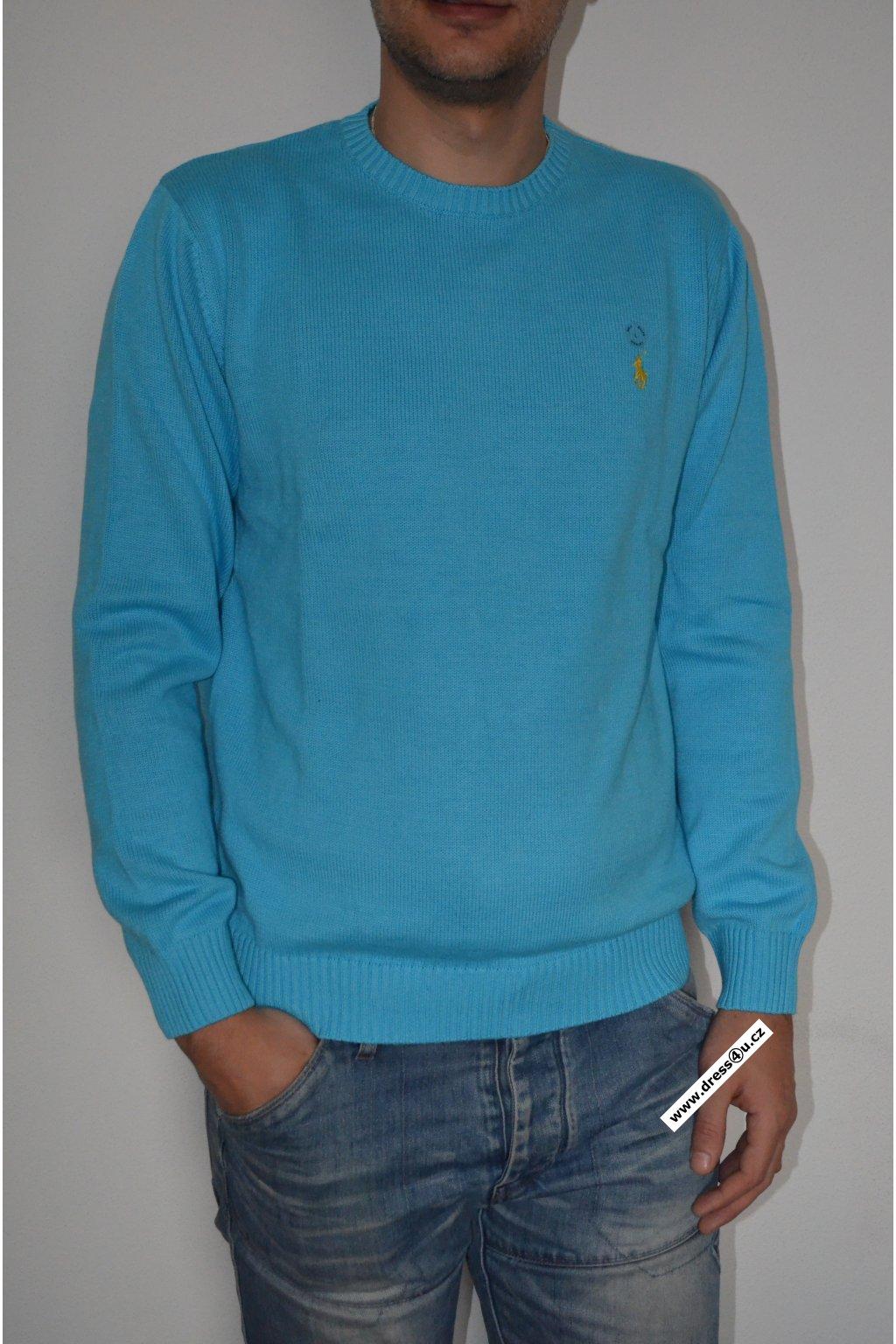 Ralph Lauren pánský svetr sv.modrý
