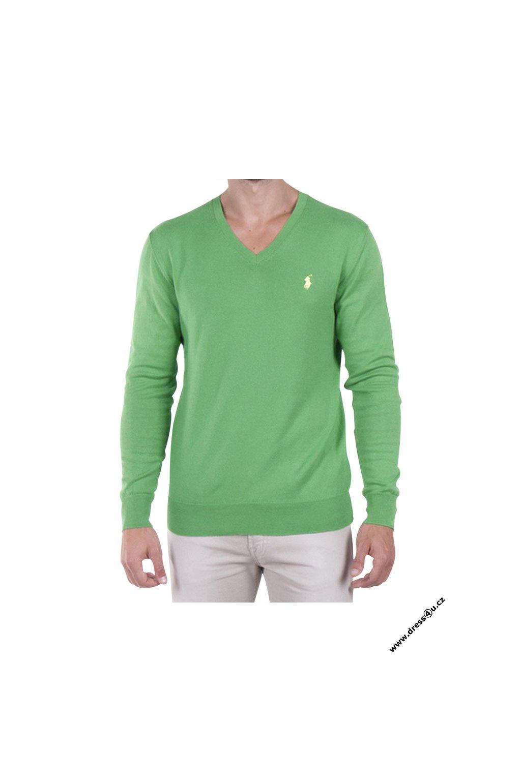 Ralph Lauren pánský svetr zelený