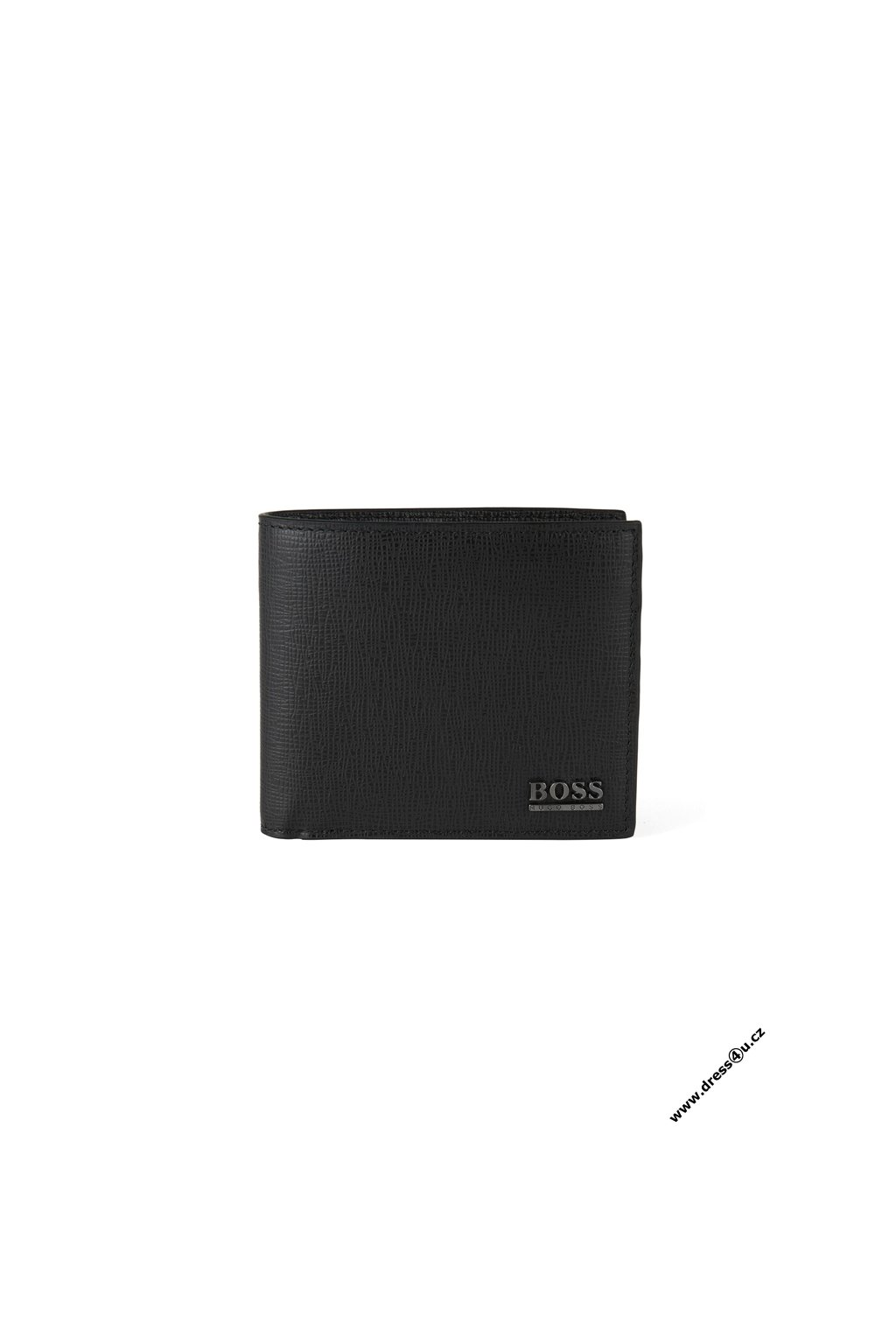 Leather wallet Mensur Black B 3934