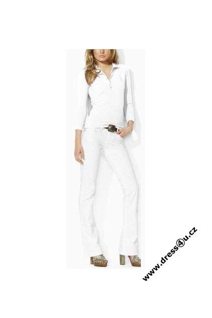 Ralph Lauren dámské polo triko bílé s velkým bílým koněm