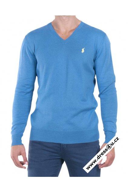 Ralph Lauren pánský svetr modrý