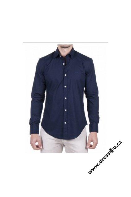 Hugo Boss pánská košile tm.modrá