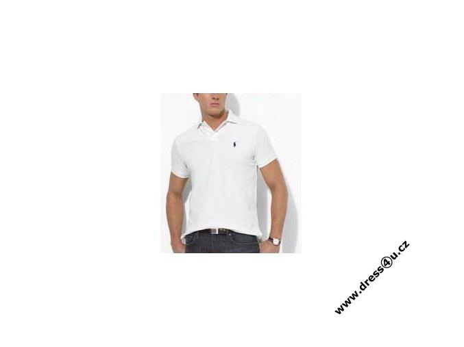 Ralph Lauren pánské polo triko bílé