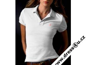 Ralph Lauren dámské polo triko bílé