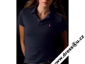 Ralph Lauren dámské polo triko tm.modré skinny fit