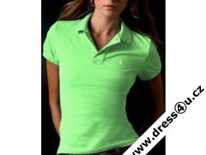 Ralph Lauren dámské polo triko sv.zelené skinny fit
