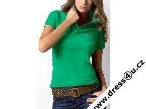 Ralph Lauren dámské polo triko zelené classic