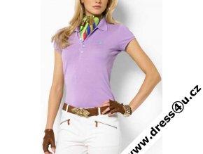 Ralph Lauren dámské polo triko fialové