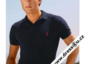Ralph Lauren pánské polo triko tm.modré (slim fit)