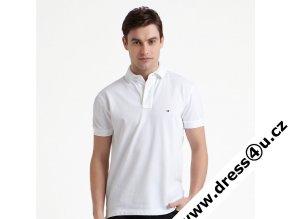 Tommy Hilfiger pánské polo triko bílé