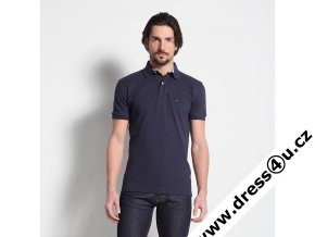 Tommy Hilfiger pánské polo triko tmavě modré