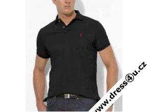 Ralph Lauren pánské polo triko černé