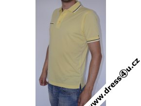 Tommy Hilfiger pánské golf polo triko žluté