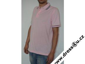Tommy Hilfiger pánské polo triko růžové